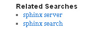 Related search terms